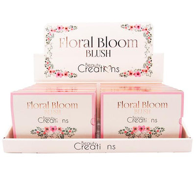 Wholesale Beauty Creations Floral Bloom Blush Display 12PCS (BF01)