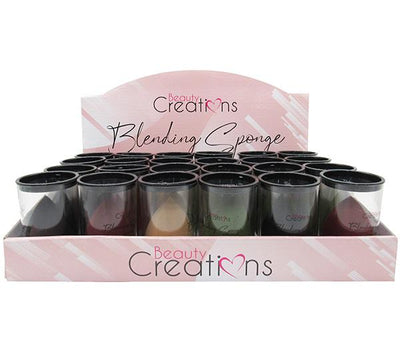 Beauty Creations Sponge Precisions Blending Mix Color Latex Free