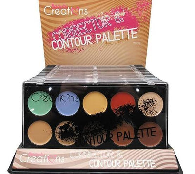 Wholesale Beauty Creations Corrector & Contour Palette Display 12PCS (C10)