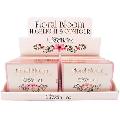 Wholesale Beauty Creations Floral Highlight & Contour Display 12PCS (CF01)