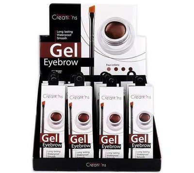 Wholesale Beauty Creations Gel Eyebrow Long Lasting Waterproof Display 12PCS (EGD01)
