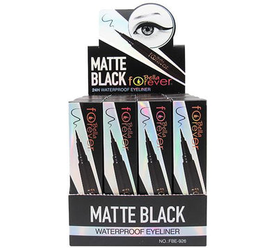 Bella Forever Matte Black 24HR Waterproof Eyeliner - Wholesale