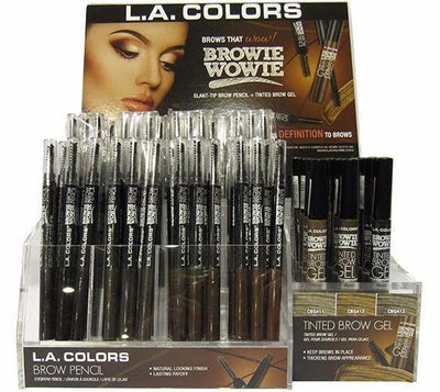 Browie Wowie L.A. Colors - Wholesale Display 180PCS (CAD77.1)