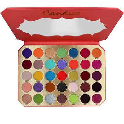 Wholesale Candice Be Calinda 35 Colors eyeshadow Palette Pack 5PCS (CAN-EP35CL)