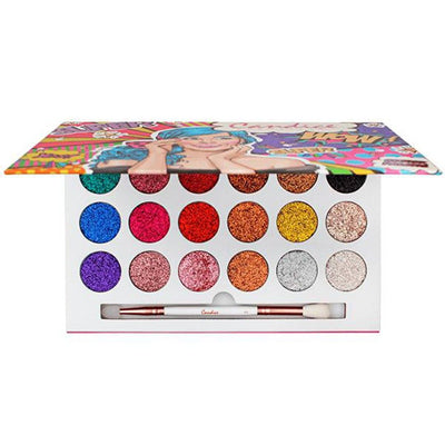 Wholesale Candice Glitter Eyeshadow Palette Pack 6PCS (CAN-PG1801)