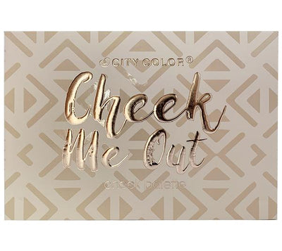 City Color Cheek Me Out Cheek Palette - Wholesale Display 12PCS (C-0033)