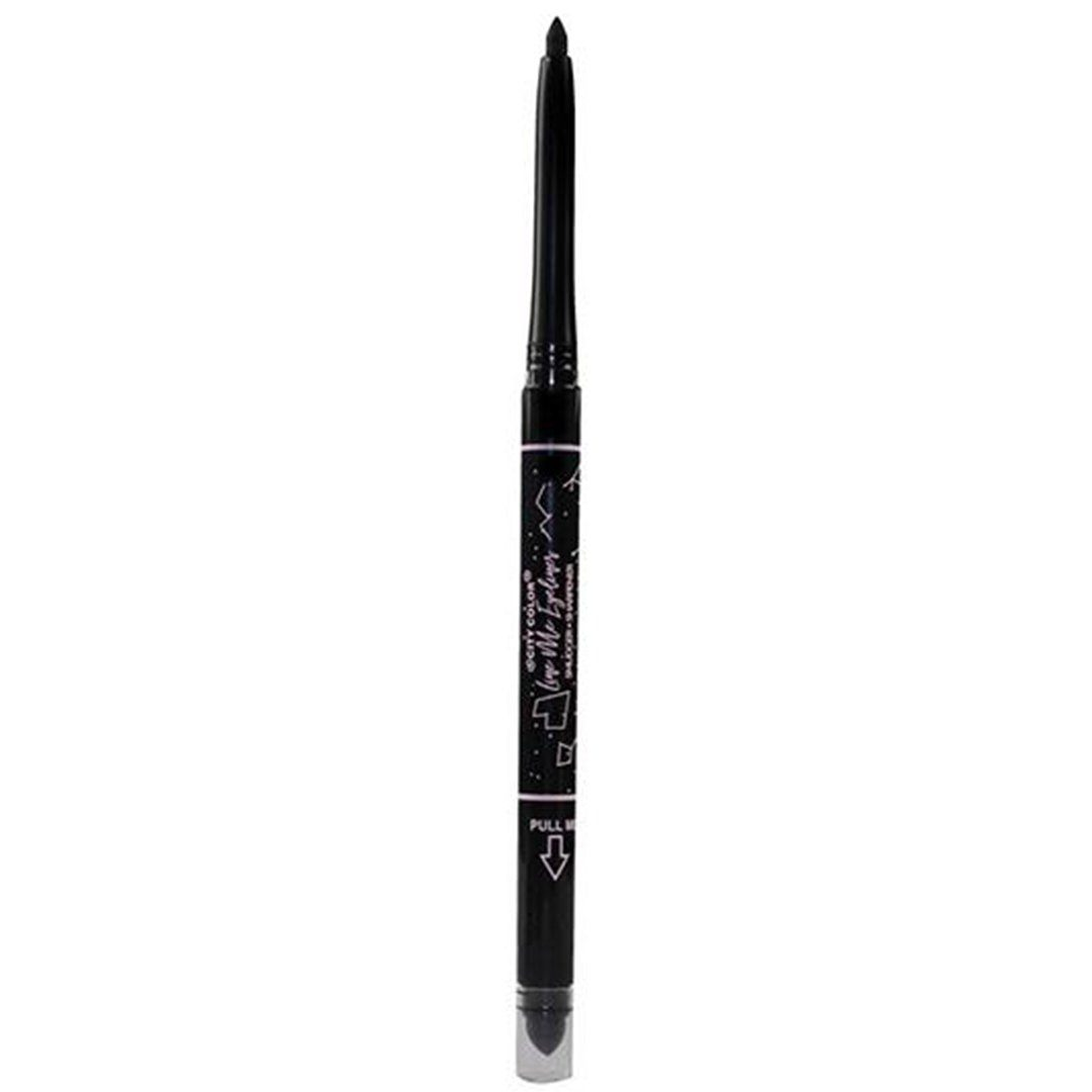 City Color Line Me Eyeliner - Jet - Wholesale Display 48PCS (E-0083)