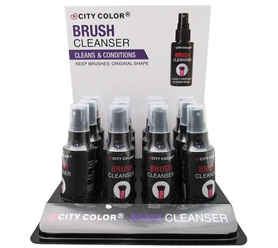 Wholesale City Color Brush Cleanser Display 12PCS (T-0020)