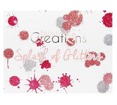 Wholesale Beauty Creations Glitter Palette 28Color Splash Of Glitter Pack 6PCS (E28-A)