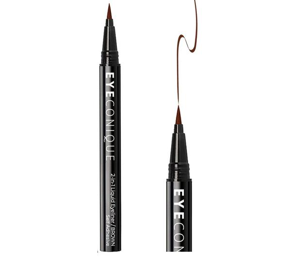 Eyeconique 2 In 1 Liquid Eyeliner & Lash Adhesive Brown - Wholesale Pack 12PCS (ELBR)
