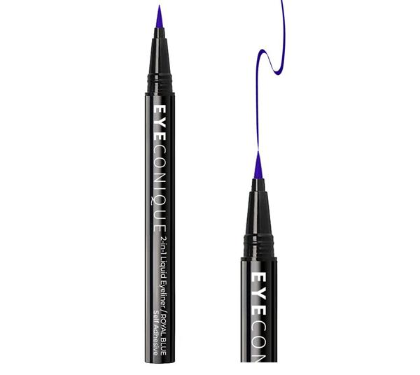 Eyeconique 2 In 1 Liquid Eyeliner & Lash Adhesive Royal Blue - Wholesale Pack 12PCS (ELRO)