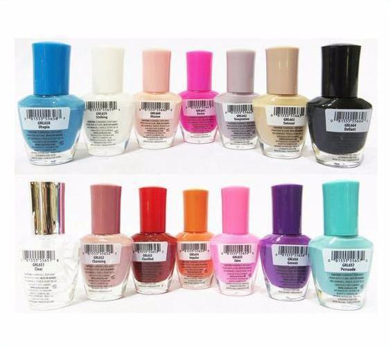 L.A Girl Gel Extreme Shine Nail Polish - Wholesale Display 168PCS (GCD249.1)