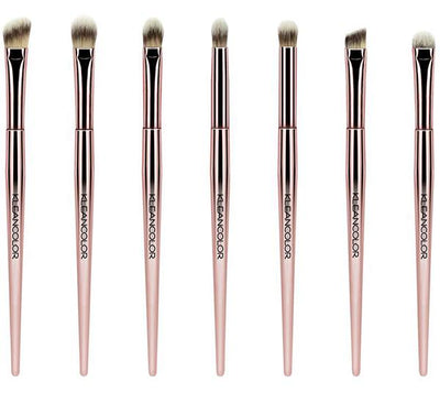 Kleancolor Stop & Smell The Roses 7 Piece Eye Brush Set - Wholesale Pack 6PCS (CBS4)