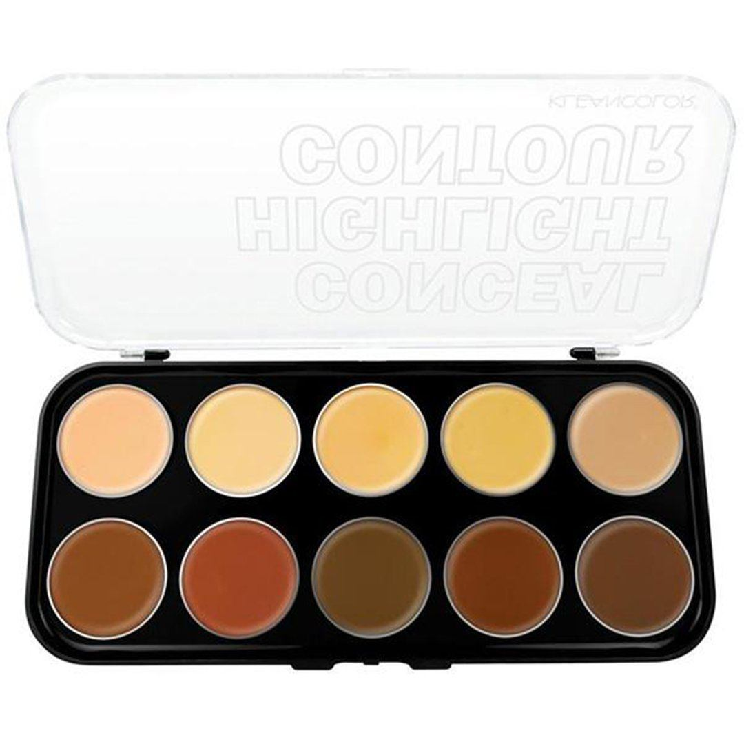 Kleancolor Conceal - Highlight - Contour - Wholesale Pack 6PCS (CC2121)