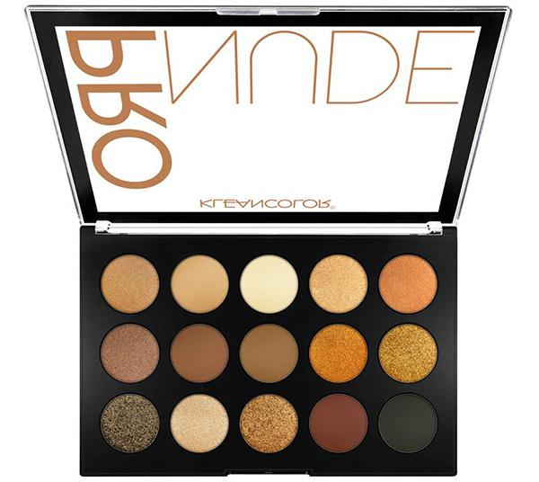 Kleancolor Pro Nude Eyeshadow Palette - Wholesale Display 6PCS (ES1521)