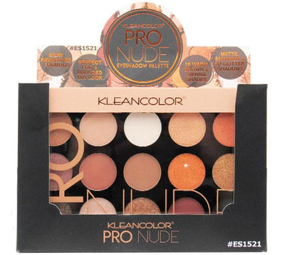 Kleancolor Pro Nude Eyeshadow Palette - Wholesale