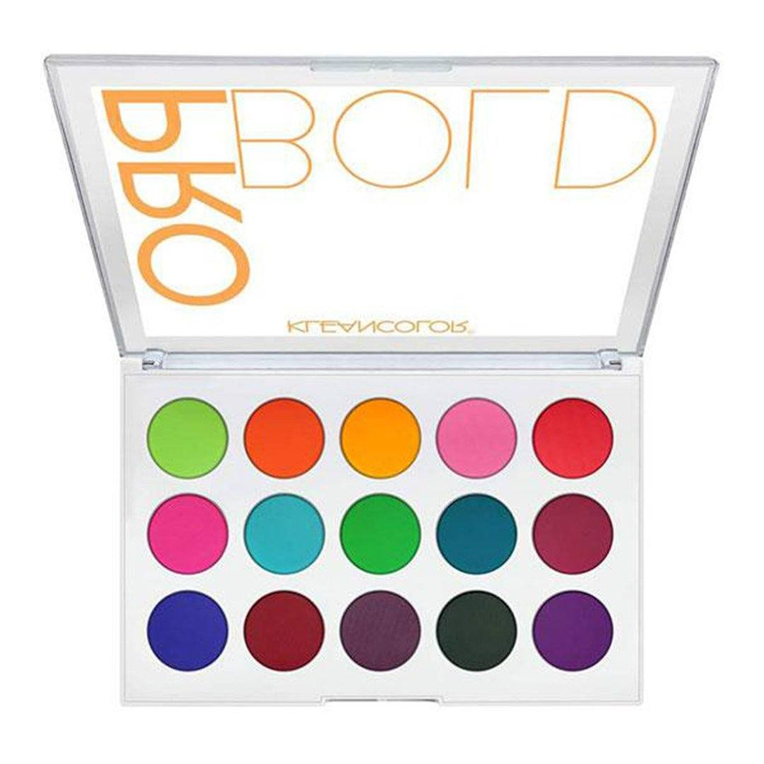 Kleancolor Pro Bold Pressed Pigment Palette - Wholesale Display 6 PCS (ES1523)