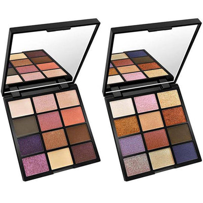 Kleancolor Diamond Crush Palette II - 12 Color Eyeshadow Palette - Wholesale Display 12PCS (ES742)