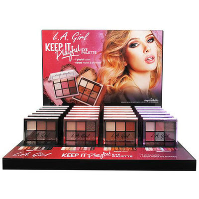 L.A. Girl Keep It Playful Eyeshadow Palette - Wholesale