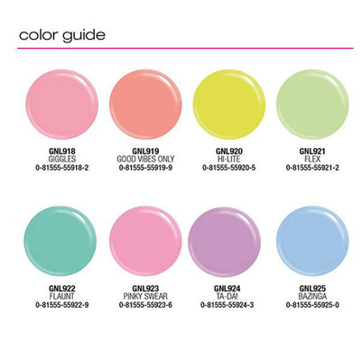 L.A. Girl Gel Extreme Shine Pastels - Wholesale