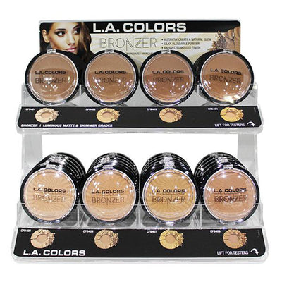 Wholesale L.A. Colors Bronzer Display 72PCS (CAD449.1)