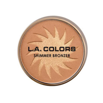 Wholesale L.A. Colors Shimmer Bronzer Radiant Pack 24PCS (CBBP267)