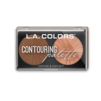 Wholesale L.A. Colors Contour & Highlight Light Medium Pack 24PCS (CBCP268)