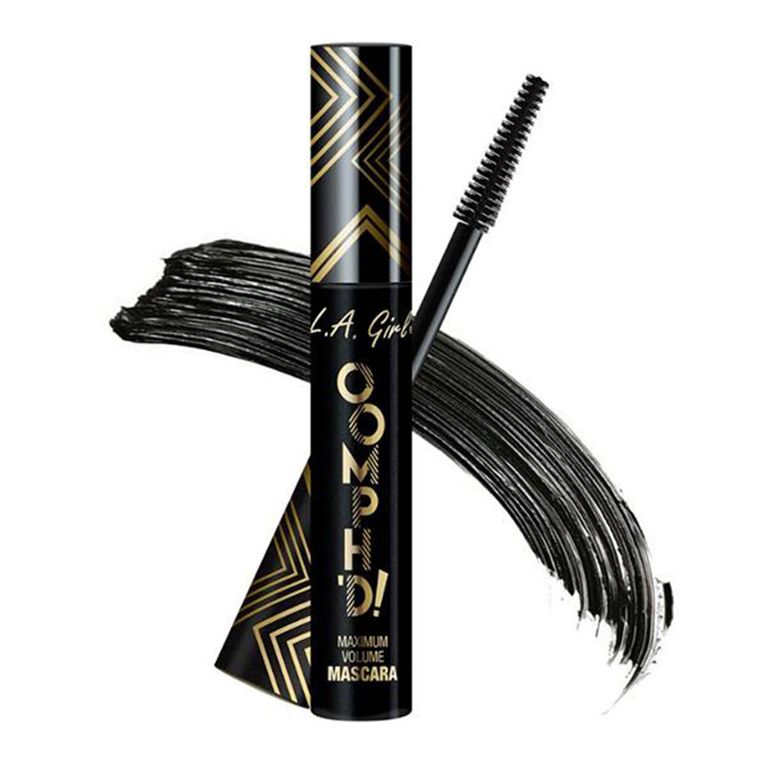 L.A. Girl Oomph'D Mascara - Super Black - Wholesale Pack 12PCS  (GMS648)