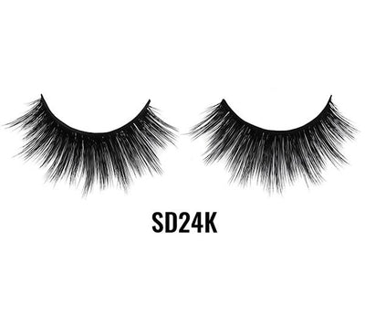 Laflare 3D Faux Mink Lashes - Wholesale Pack 10PCS (LFSD 24K)