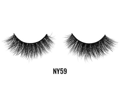 Laflare 3D Mink Lashes 100% Mink Hair - Wholesale Pack 10PCS (NY59)
