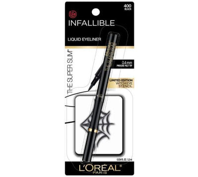 Loreal Infallible Super Slim Eyeliner And Witch Eye Stencil