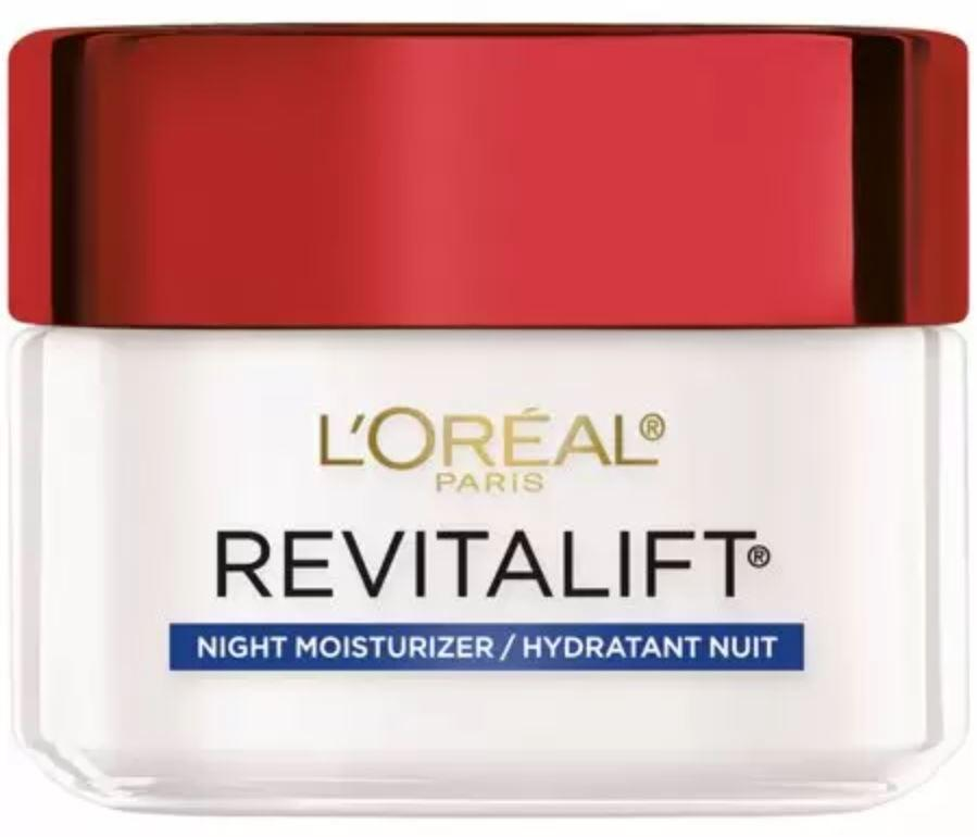 Loreal Revitalift Anti-Wrinkle + Firming Night Moisturizer - Wholesale Pack 6PCS (LRAN)