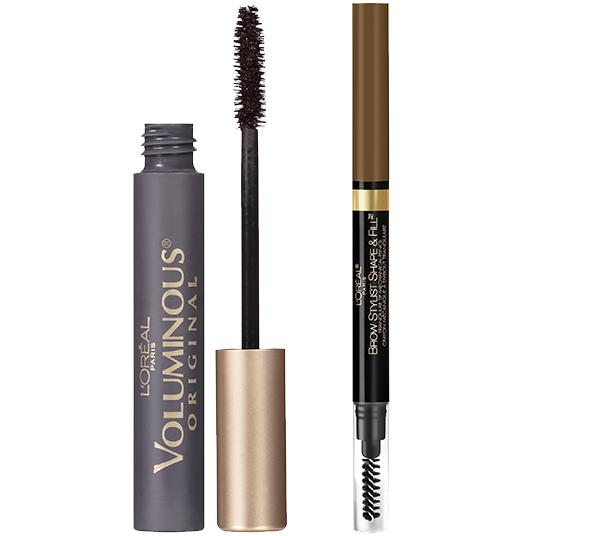 Loreal Voluminous Mascara And Brow Stylist Cosmetic Set - Wholesale Pack 24PCS (LVMS)