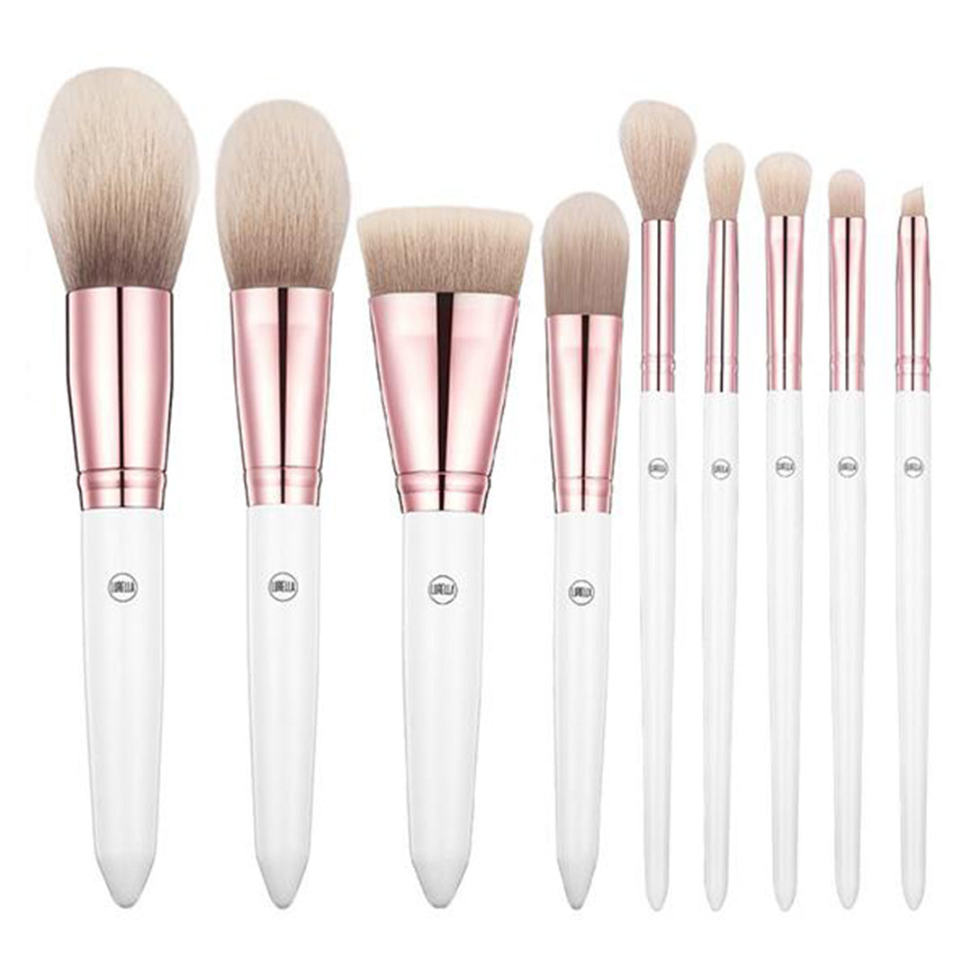 Lurella Cosmetics 9PC Brush Set - Shuga - Wholesale Pack 5PCS (LCSH)