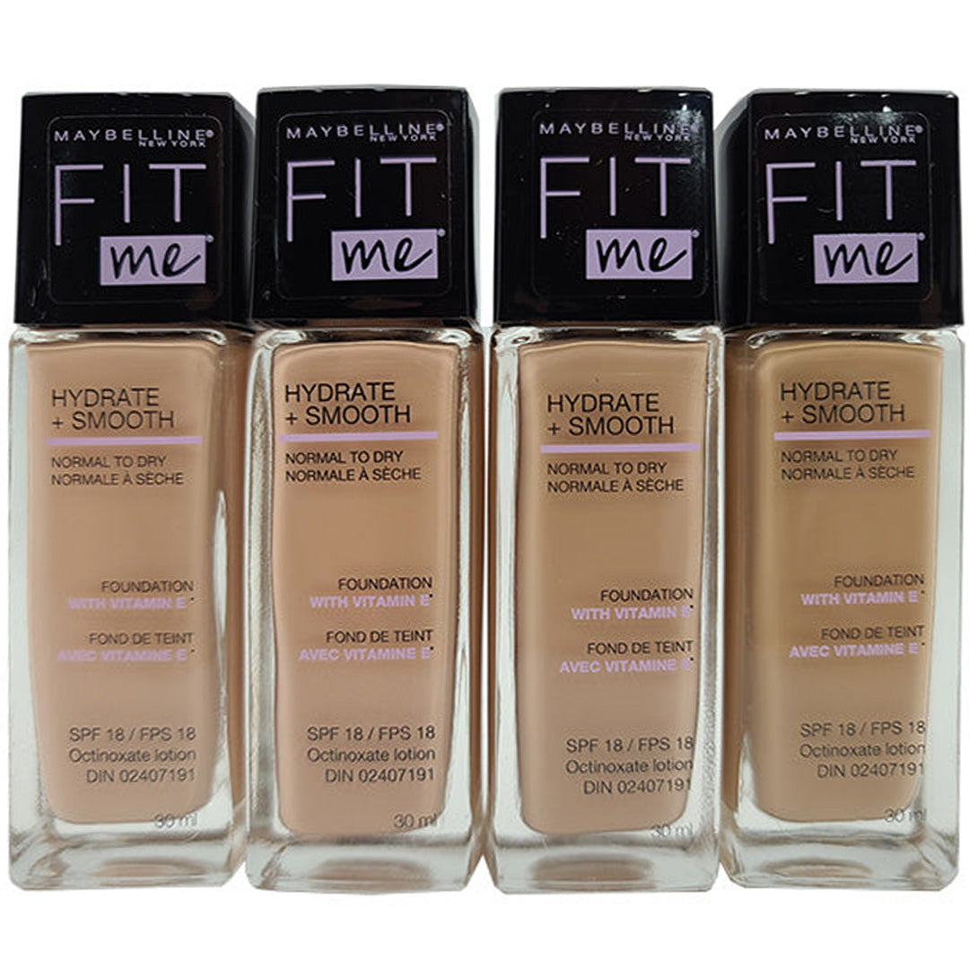 Maybelline Fit Me Hydrate + Smooth Liquid Foundation