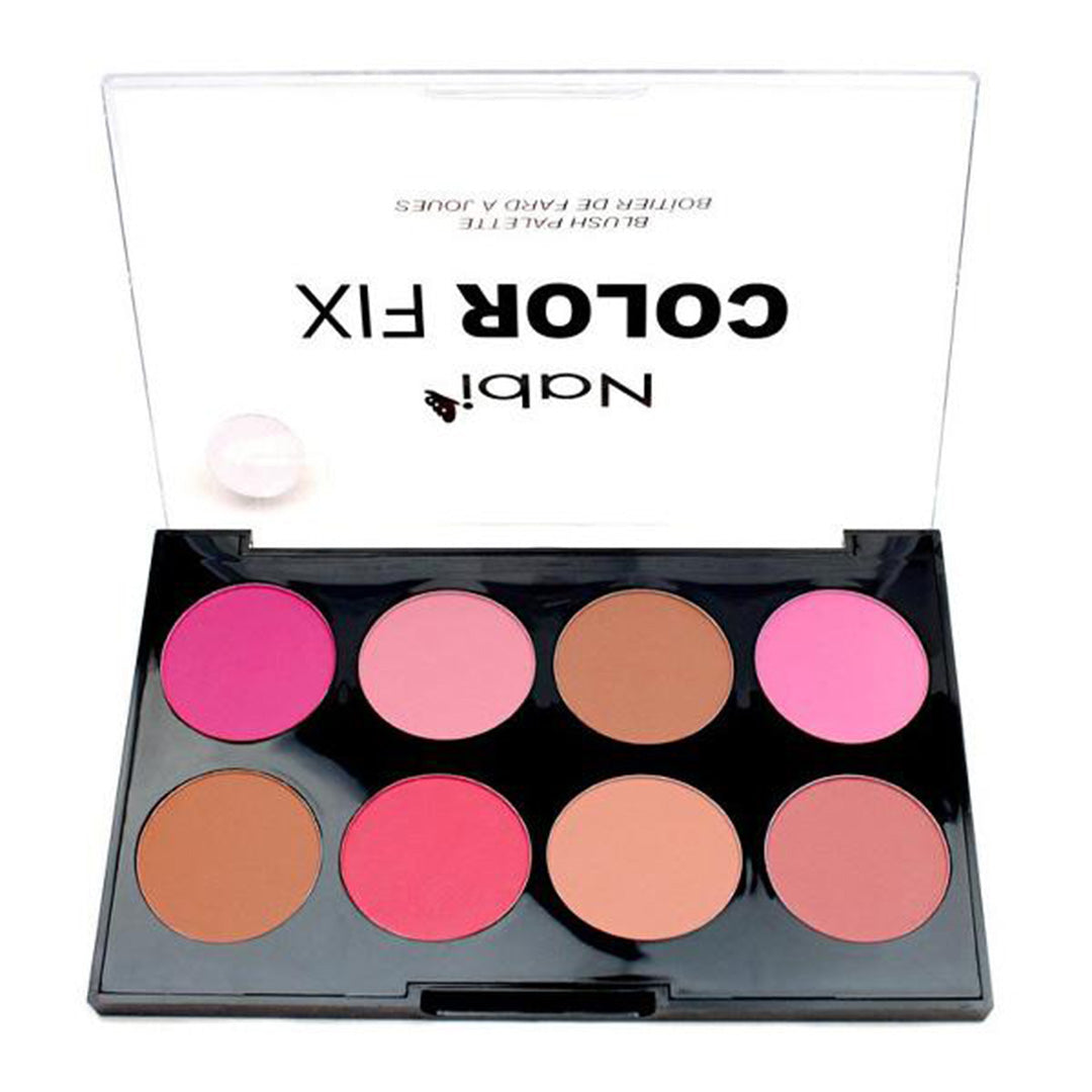 Nabi Color Fix Blush Palette - Wholesale Display 12PCS (AC02-B)