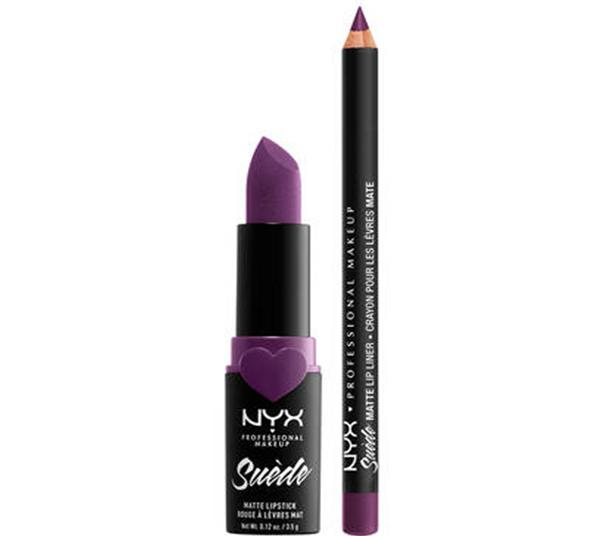 NYX 2PC Kit Love Lust Disco Suede Matte Lip Subversive Socialite - Wholesale Pack 12PCS (K37290)