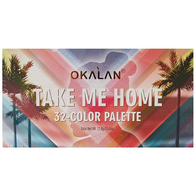 Wholesale Okalan Take Me Home 32-Color Palette Display 6PCS (OKL-E051)