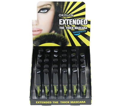 Wholesale Okalan Extended The Thick Mascara Waterproof Display 36PCS (OKL-M002)