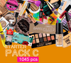 (Starter Pack C 1,045 Pcs) Wholesale Liquidation Mix with Factory Case Eyes, Lips & Face