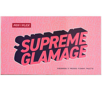 Perplex  Supreme Glamege 18 Color Eyeshadow & Pressed Pigment Palette - Wholesale Pack 12PCS (PSGE)