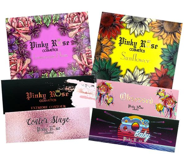 Pinky Rose Cosmetics Assorted Mixed - Wholesale Pack 12PCS (PRMIX)