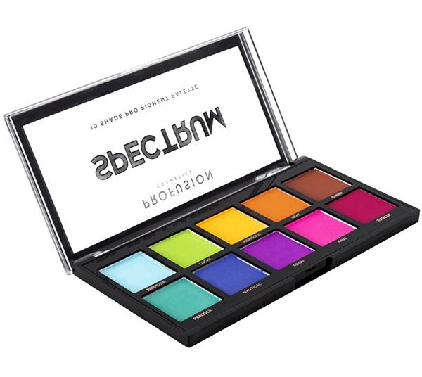 Wholesale Profusion 10 Shade Pro Pigment Palette Eyeshadow - Spectrum Pack 6PCS (1800-2)