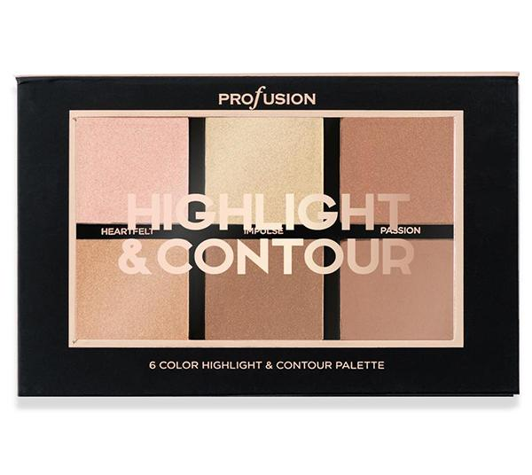 Profusion 6 Color Highlight & Contour Palette - Wholesale