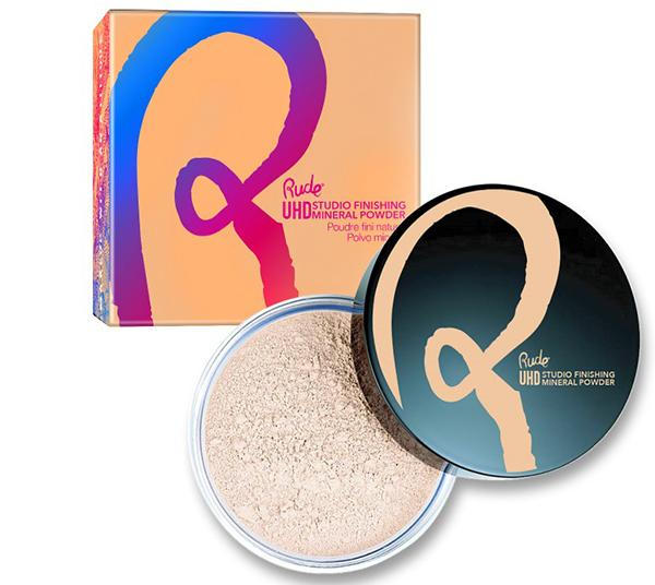 Rude Cosmetics Ultra High Definition Studio Finishing Mineral Powder - Wholesale Pack 24PCS (RC-87859)