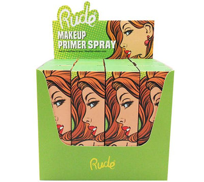 Wholesale Rude Cosmetics Makeup Primer Spray Display 12PCS (RC-87832)