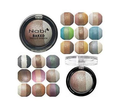 Wholesale Nabi Baked Trio Eyeshadow Display 108PCS (TBE01)