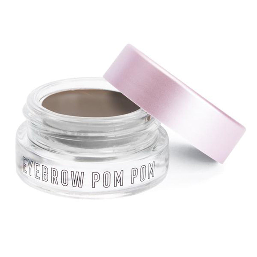 The Creme Shop Eyebrow Pom Pom Pot Of Pomade Dark Brown - Wholesale Pack 6PCS (CR-EY-BPPDB)