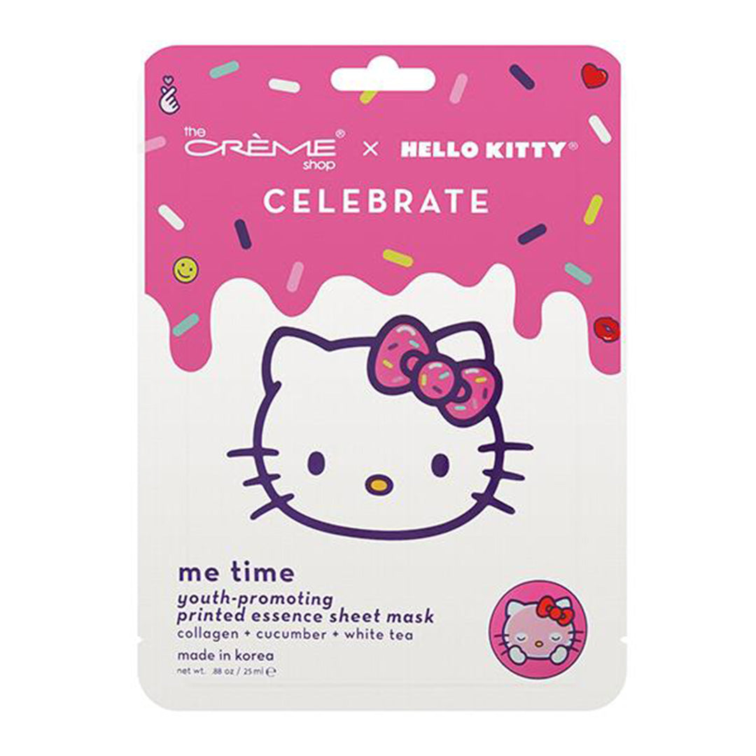 The Creme Shop TCS X Hello Kitty Celebrate Me Time Face Mask