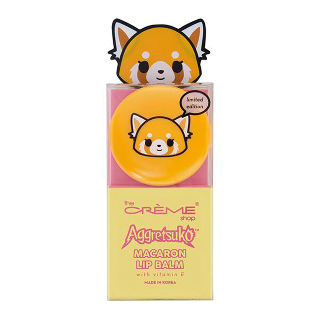 The Creme Shop Aggretsuko Macaron Lip Balm - Wholesale Pack 6PCS (HKMLB4989)